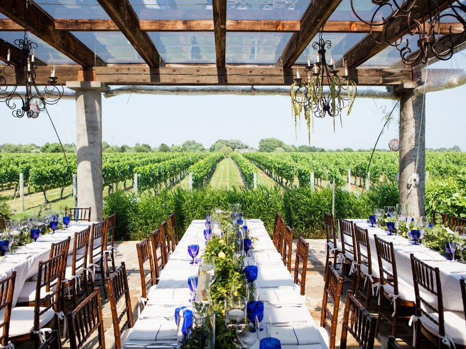 Long Island is home to 50 wineries
