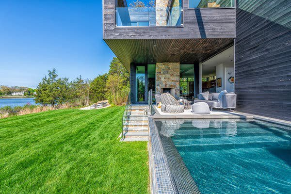 East Hampton is a mix of ultra-modern and historic America