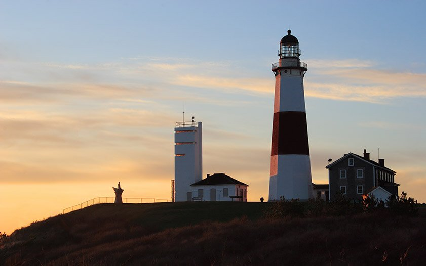 Montauk Point Lighthouse by Day