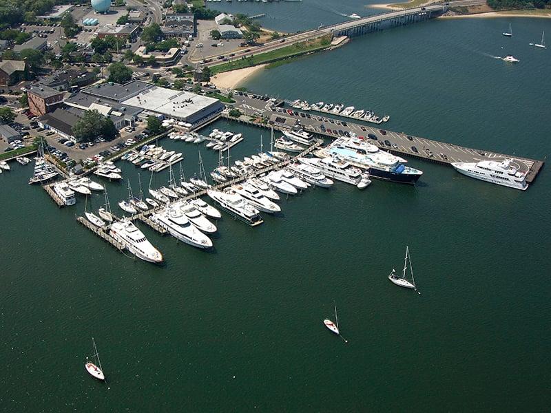 Yacht Hampton Dock, Sag Harbor