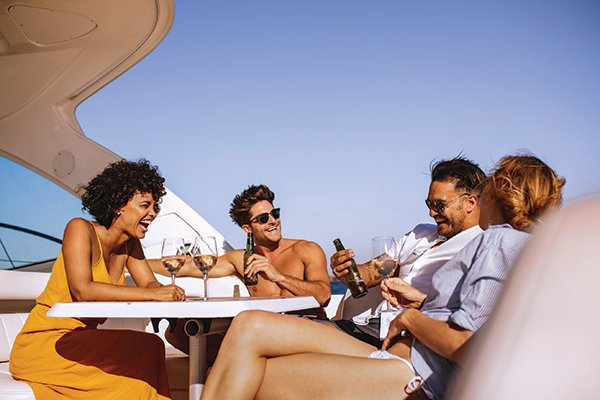 Charter a Booze Cruise for the perfect summer party