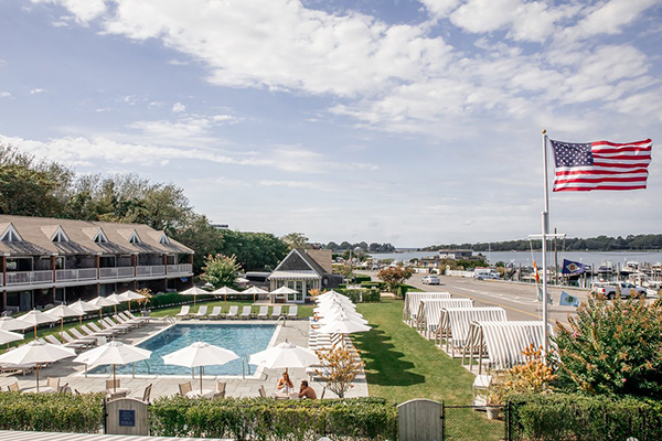 Enjoy the scenic view from Baron's Cove