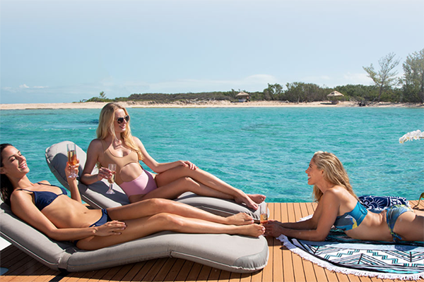 All boat charters offer a different menu of services