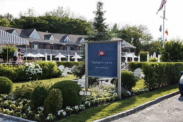 Baron's Cove in Sag Harbor is 4-star all the way