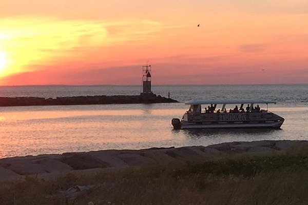 Montauk is made for sunset cruises