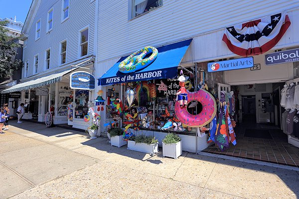 Walk Main Street to soak in the history of this harbor town