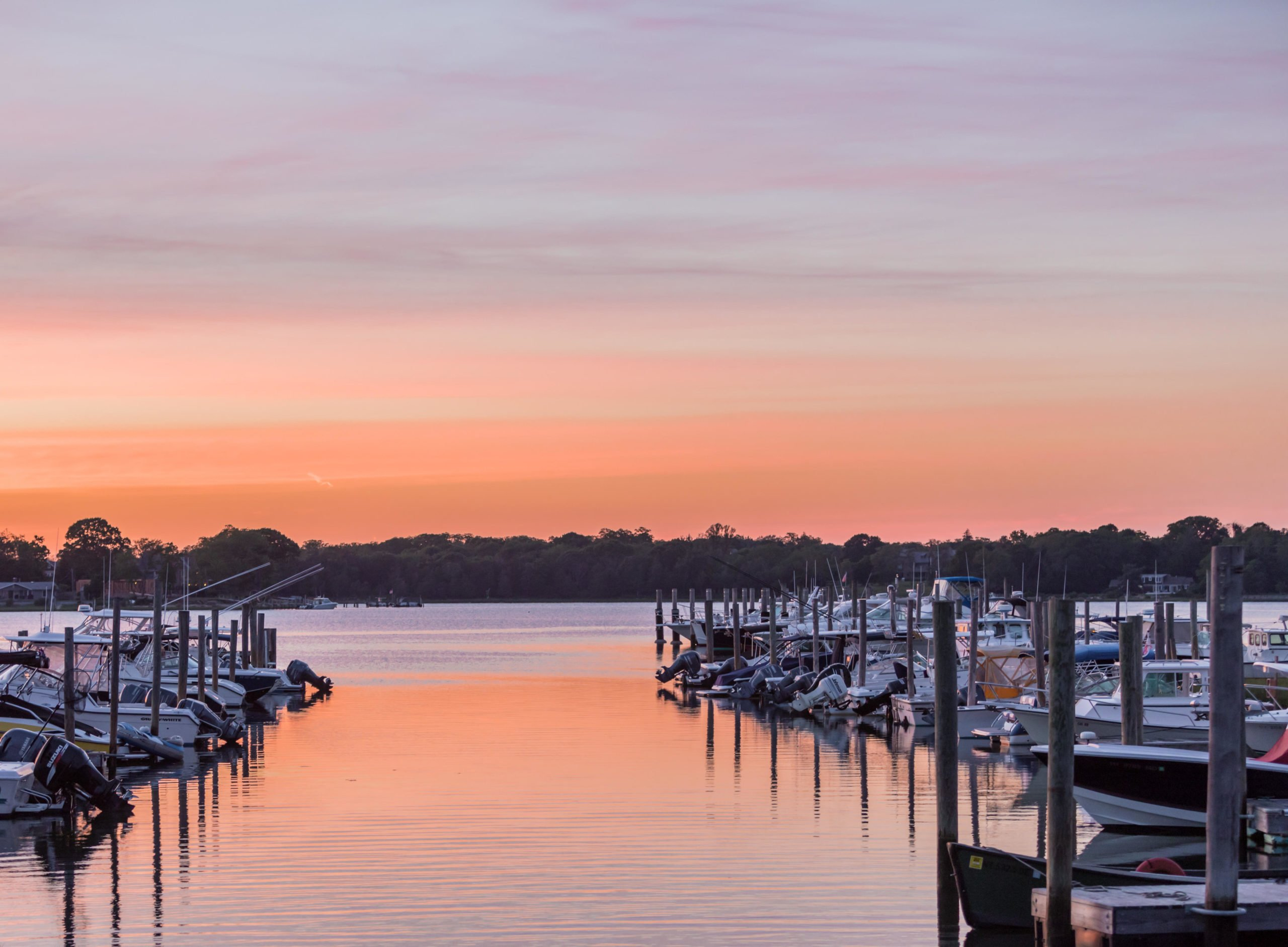 Sag Harbor at Sunset is the perfect end to a perfect day of sailing.
