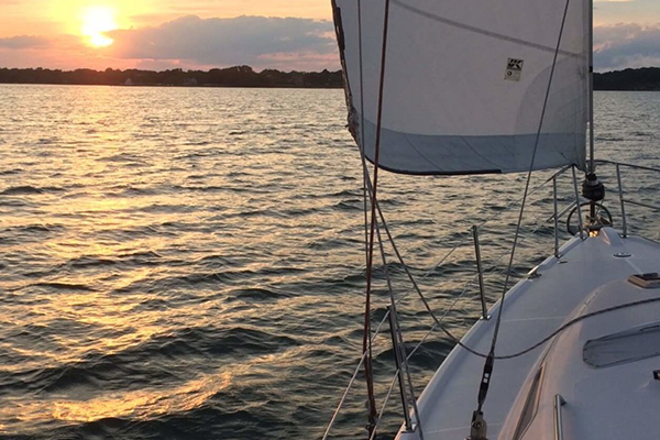 Morning Sailing is a great start to the day