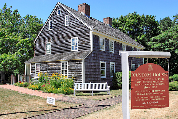 Custom House, the first US customs office was also a family home