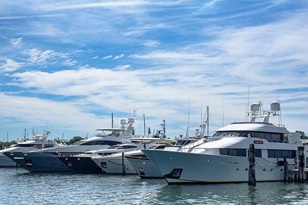 Boats in Sag Harbor NY 11963