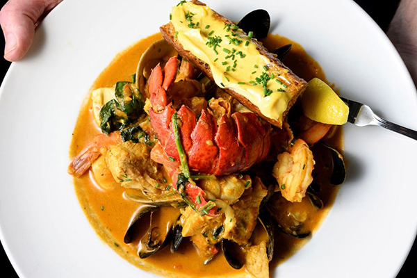 Bouillabaisse at The Bell & Anchor won't disappoint